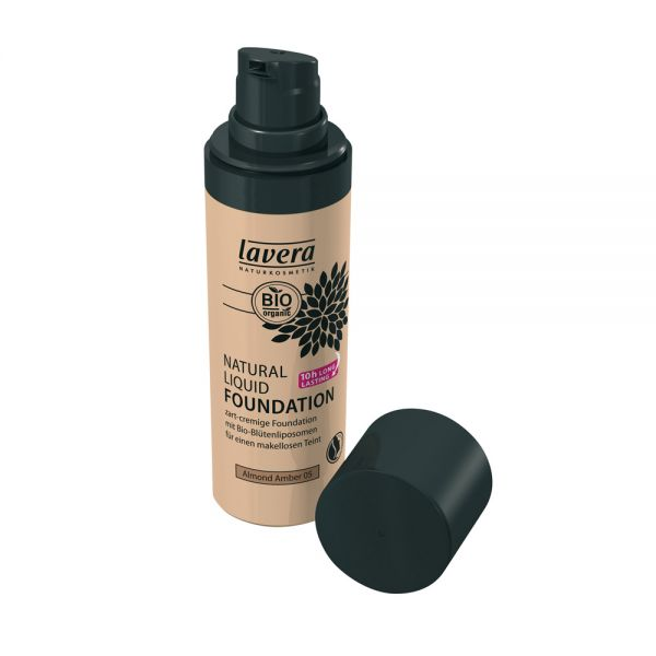 Natural Liquid Foundation Almond Amber 05