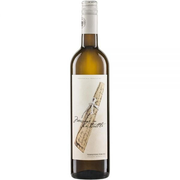Bio-Weißwein Italien MESSAGE IN A BOTTLE Bianco Toscana IGT 2019