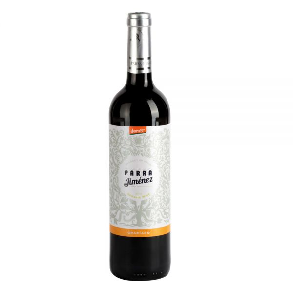 Bio-Rotwein Spanien Graciano DO 2016