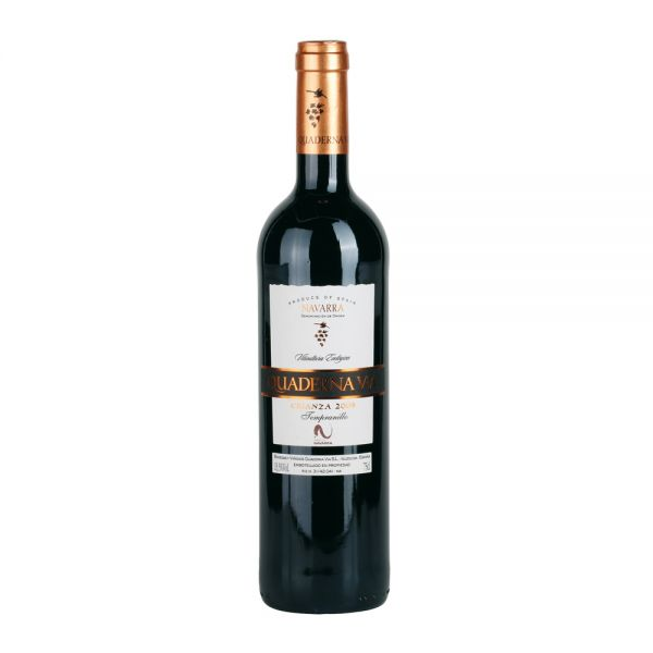 Bio-Rotwein Spanien Quaderna Via Crianza DO 2013