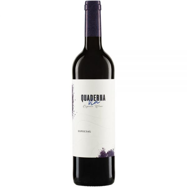 Bio-Rotwein Spanien Quaderna Via Especial DO 2016