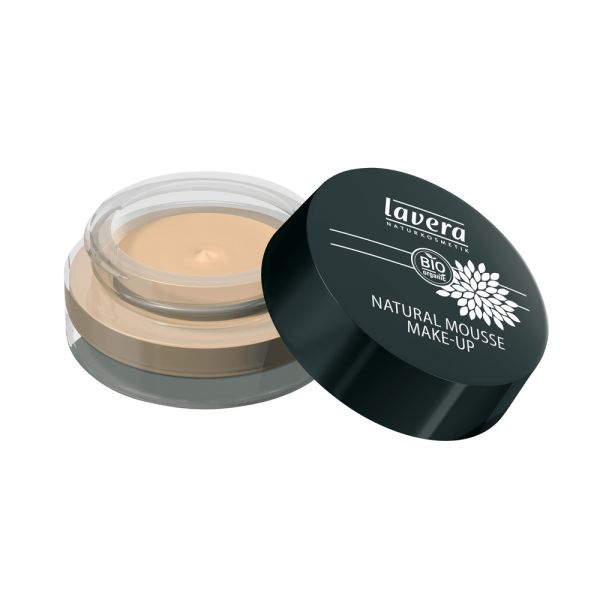 Natural Mousse Make-up Ivory 01