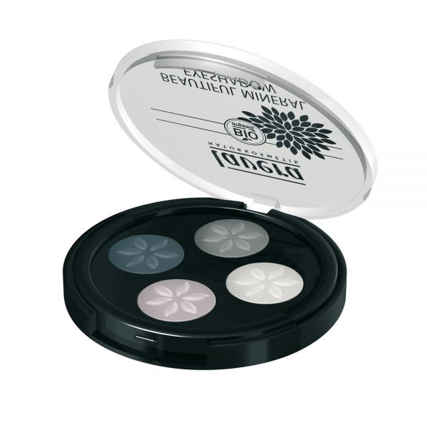 Beautiful Mineral Eyeshadow Quattro Somky Grey 01